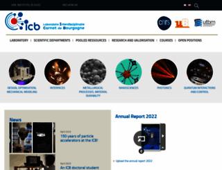 icb.u-bourgogne.fr screenshot