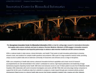 icbi.georgetown.edu screenshot