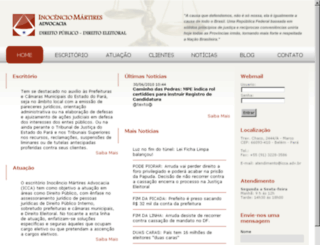 icca.adv.br screenshot