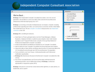 icca.org screenshot