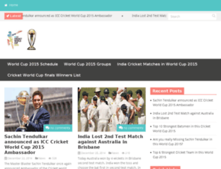icccricketworldcup-2015.in screenshot
