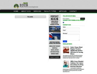 iccsblog.com screenshot