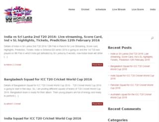 icct20cricketworldcuplivestreaming2016.com screenshot