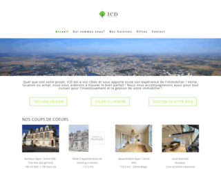 icd-groupe.fr screenshot