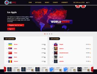 ice-apple.com screenshot