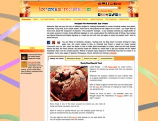 ice-cream-recipes.com screenshot