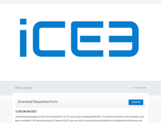 ice3x.co.za screenshot