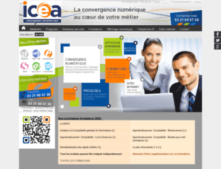 icea-informatique.fr screenshot
