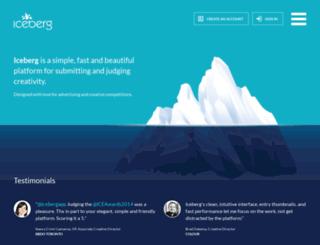 icebergapp.com screenshot