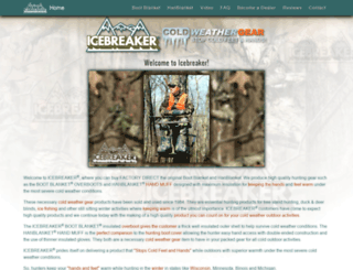 icebreakerinc.com screenshot