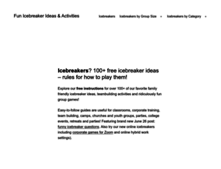 icebreakers.ws screenshot