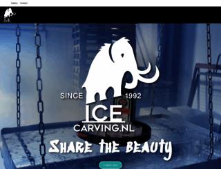 icecarving.nl screenshot