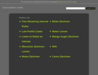 icecaster.com screenshot