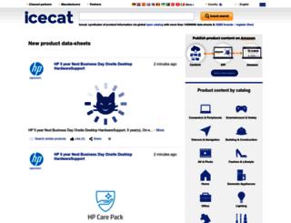icecat.us screenshot