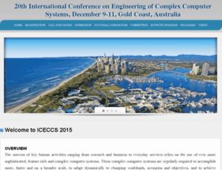 iceccs2015.monash.edu.au screenshot