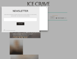 icecrave.com screenshot