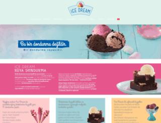 icedream.com.tr screenshot