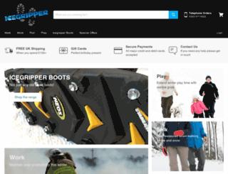 icegripper.co.uk screenshot
