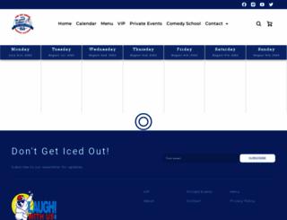 icehousecomedy.com screenshot