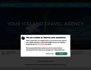 iceland.nordicvisitor.com screenshot