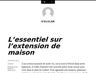 icelular.org screenshot