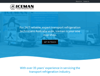 iceman.com.au screenshot