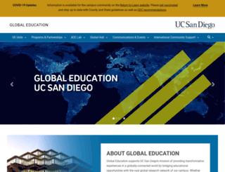 icenter.ucsd.edu screenshot