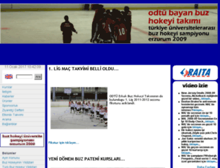icesports.metu.edu.tr screenshot