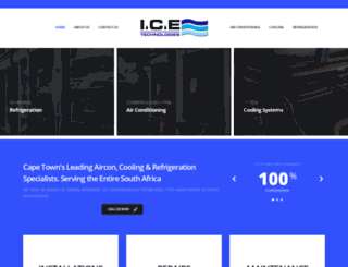 icetechnologies.co.za screenshot