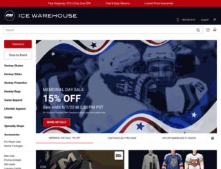 icewarehouse.com screenshot