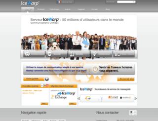 icewarp.fr screenshot