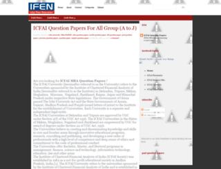 icfai-mba-papers.blogspot.com screenshot