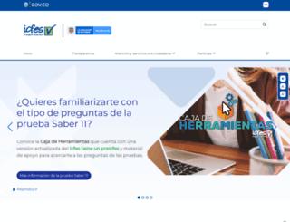 icfesinteractivo.gov.co screenshot