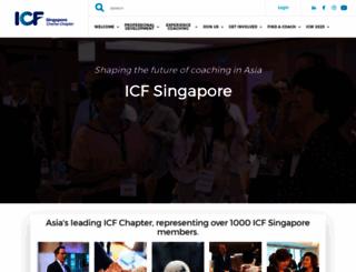 icfsingapore.org screenshot
