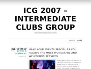 icg2007.org screenshot