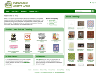 icgcrafts.com screenshot
