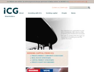 icgplc.co.uk screenshot