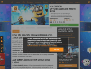 ich-einfach-unverbesserlich.browsergames.de screenshot