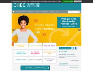 ichec-entreprises.be screenshot