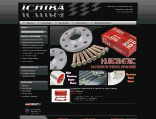 ichibausa.com screenshot