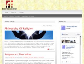 ichoosesavings.com screenshot