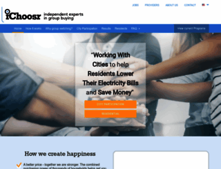ichoosr.com screenshot