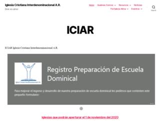 iciar.org screenshot
