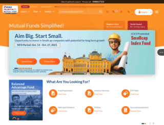iciciprumf.com screenshot
