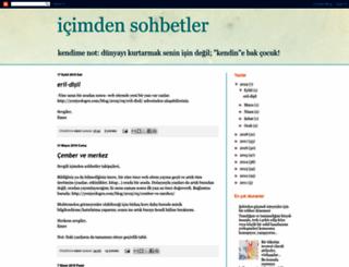 icimdensohbetler.blogspot.com.tr screenshot