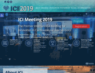 icimeeting.com screenshot
