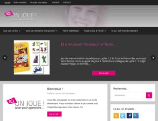 icionjoue.fr screenshot