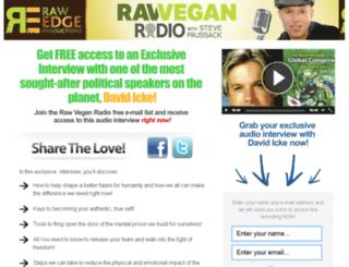 icke.rawveganradio.com screenshot