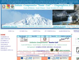 iclinguaglossacali.gov.it screenshot