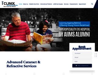 iclinix.in screenshot